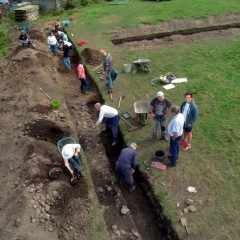 North Hall Community Excavation, Devon