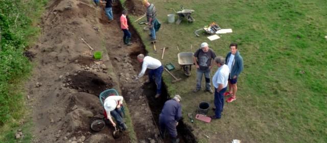 North Hall Community Excavation, Devon