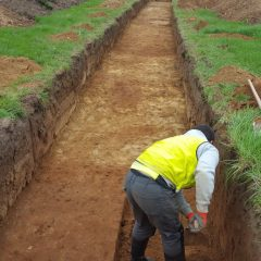 Archaeological trench evaluation on land behind Liney Road, Westonzoyland, Somerset.