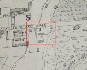 Desk Based Assessment Historic Map