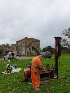 Heritage Consultant - Borehole survey Forde Abbey, Dorset